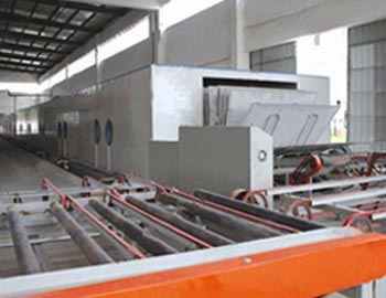 Complete set of drying equipment