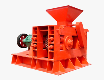 Double roller briquette machine