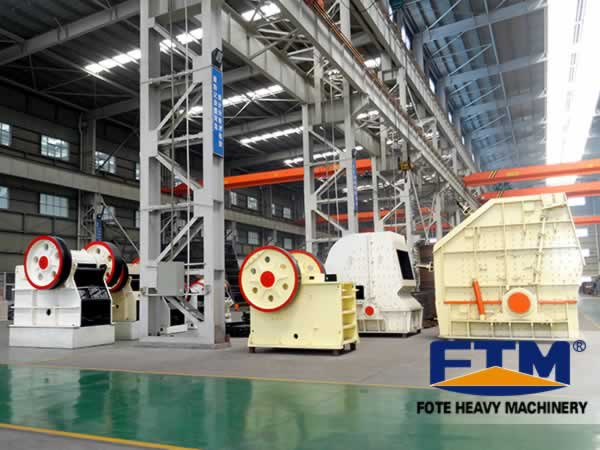 Fote jaw crusher and tips of